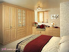 Glendale Pale Cream fitted bedroom