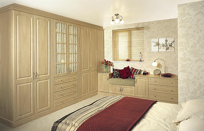 York Swiss Pear Fitted Bedroom